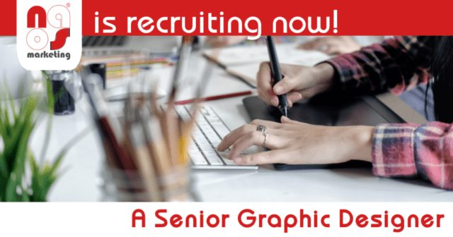 #NAOSrecruits A Senior Graphic Designer