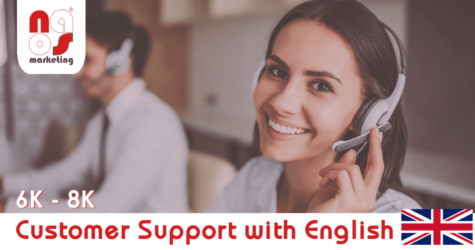 NAOS recruit customer support agents with native English