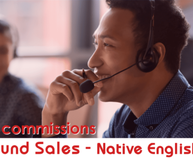 Outbond Sales Rep with native English